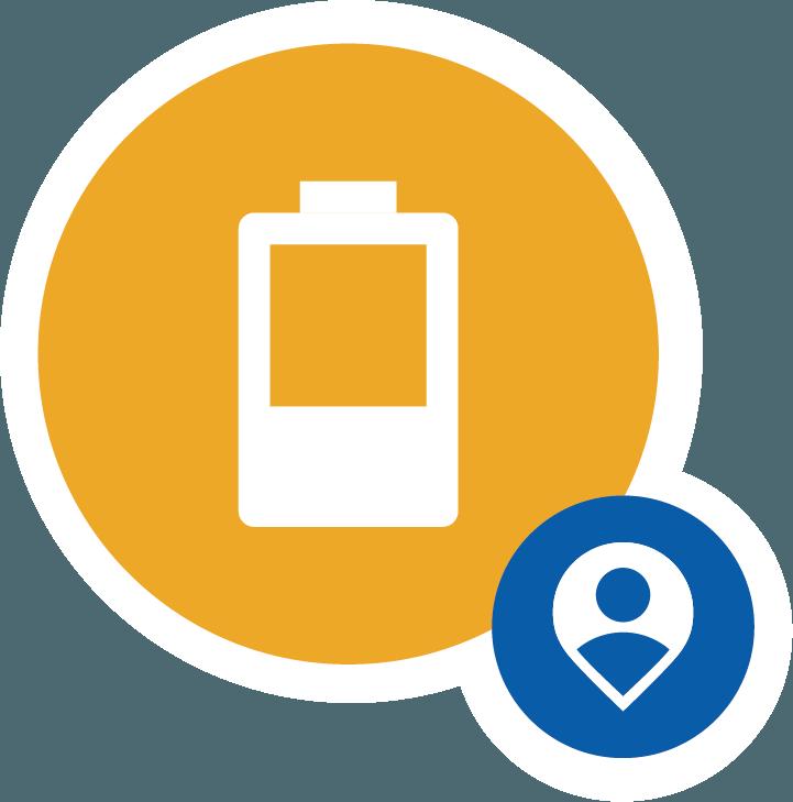 バッテリー残量低下(残10%、残5%)