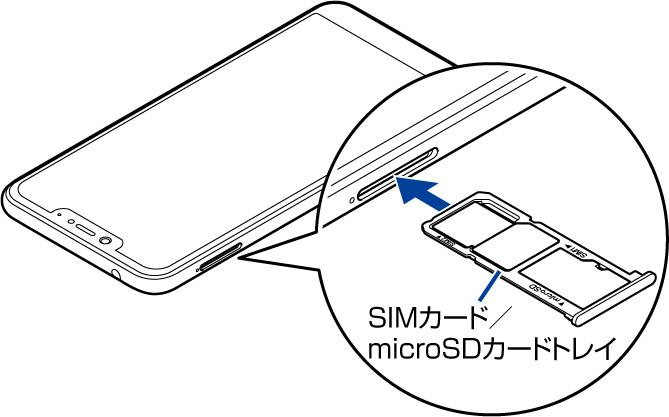 SIMカード/microSDカードの取り付け方法 | ご利用ガイド | お客様 ...